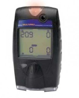BW 54-48-314ADY MultiPro LEL/O2/Duo-Tox (CO/H2S) Multi-Gas Detector-