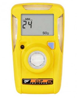 BW BWC2-S25 GasAlertClip Extreme Single Gas (SO<sub>2</sub>) Detector, 2 year 2-5-