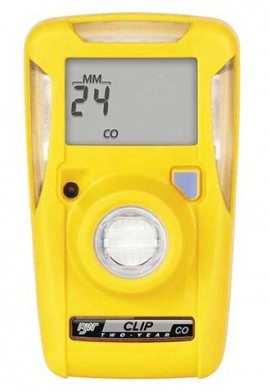 BW BWC2R-X Oxygen Gas Detector, 2-Year Operation, Low 19.5%/High 23.5% Set Point-