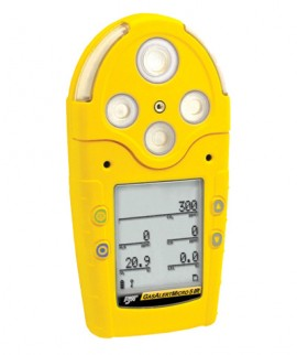 BW M5IR-00B0-R-D-D-Y-N-00 GasAlertMicro 5 Infrared Multi-Gas Detector, CO2(IR), Rechargeable Battery-