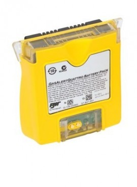 BW QT-BAT-R01 Rechargeable Battery Pack for GasAlertQuattro, Yellow-